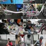 再生アート自転車『R-cycle Project』ワークショップ