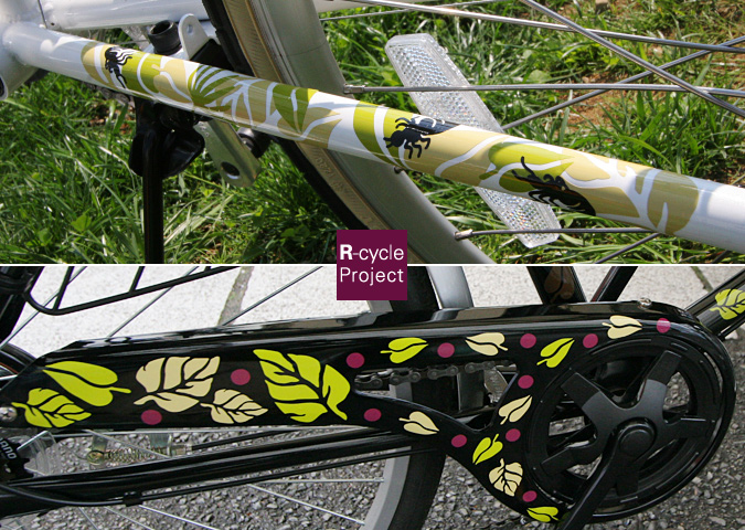 R-cycle Project 自転車用カッティングシート