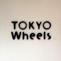 TOKYO Wheels 大阪 Store ロゴサイン