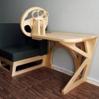 ドライブ気分を楽しめる家具